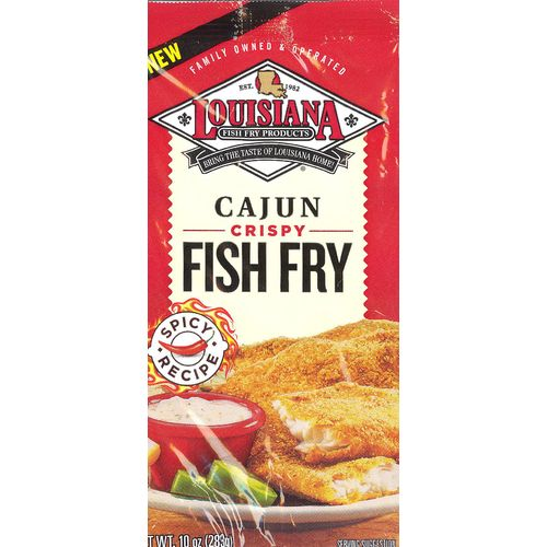 Display product reviews for Louisiana Fish Fry Products Cajun Fish Fry