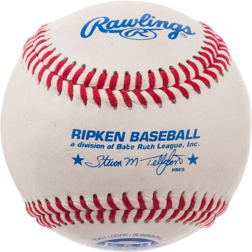 Rawlings Cal Ripken Competition-Grade Junior League Game Baseballs 2-Pack