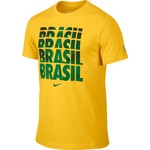 Nike Men's Brasil CBF Core Type T-shirt