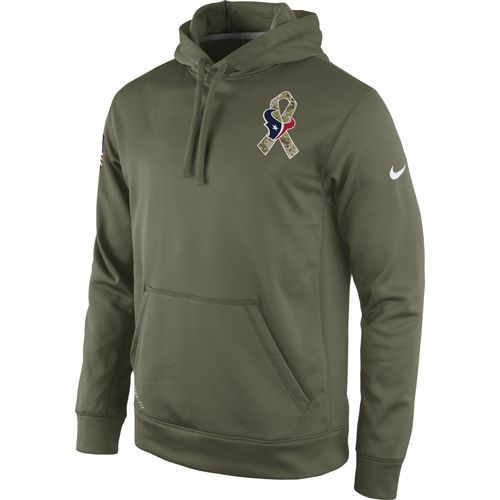 Nike Men s Houston Texans Salute to Service Knockout Hoodie