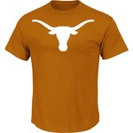 Majestic Men's University of Texas Section 101 Arch Mascot T-shirt
