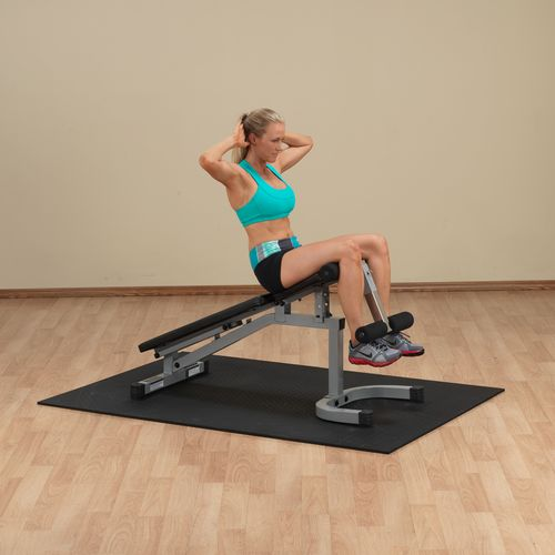 Body-Solid Powerline Flat Incline Decline Weight Bench - view number 2