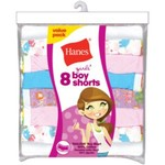 Hanes Girls' Boyshort 8-Pack