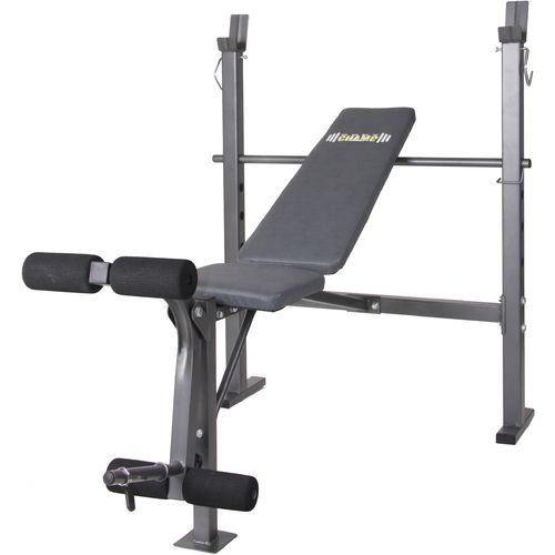 Body Champ Midwidth Weight Bench with Leg Developer