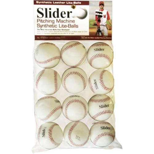 Trend Sports Slider Lite Pitching Machine Baseballs 12-Pack