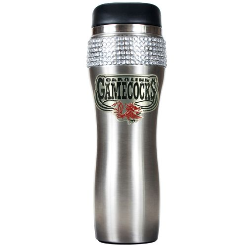 Great American Products University of South Carolina 14 oz. Stainless-Steel Bling Tumbler
