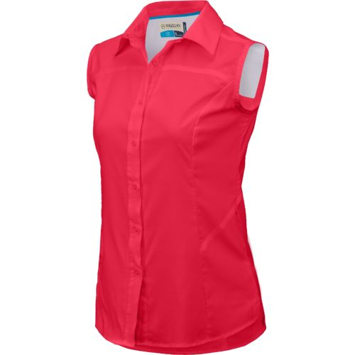 Magellan outdoors women 39 s falcon lake ii sleeveless top for Magellan women s fishing shirts