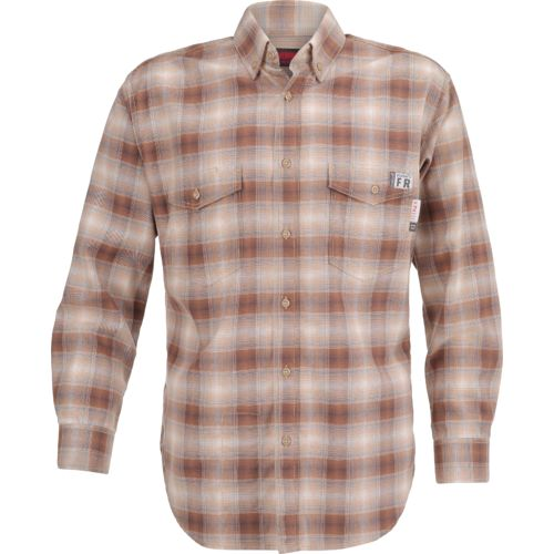 Display product reviews for Wolverine Men's Flame Resistant Twill Plaid Shirt