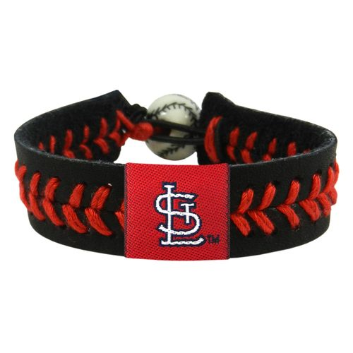 GameWear Adults' St. Louis Cardinals Baseball Bracelet