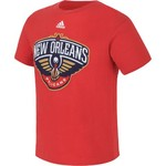 adidas™ Boys' New Orleans Pelicans Primary Team Logo Short Sleeve T-shirt