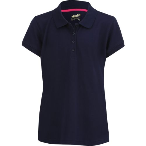 Austin Trading Co.™ Juniors' Uniform Short Sleeve Piqué Polo Shirt