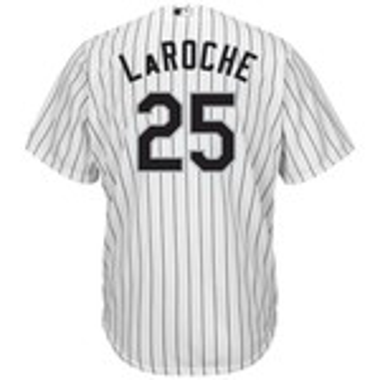 Majestic Men's Chicago White Sox Adam LaRoche #25 Cool Base Replica Jersey