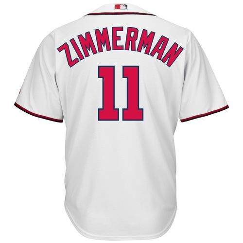 majestic mens washington nationals ryan zimmerman 11 cool base jersey