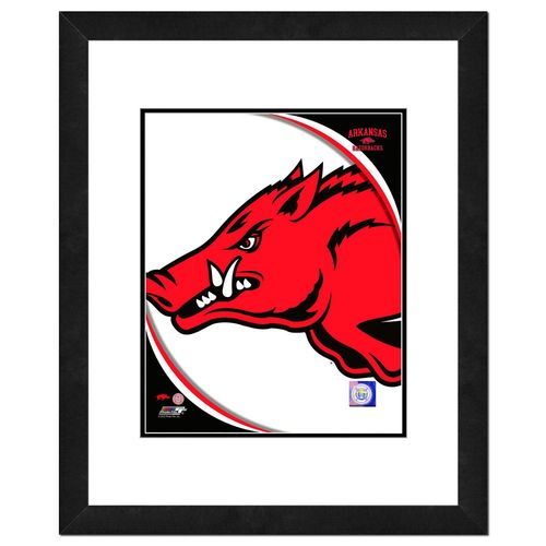 Photo File University of Arkansas 8' x 10' Team Logo Photo