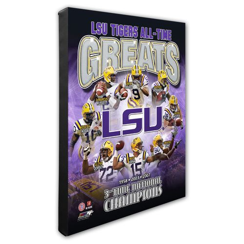 Photo File Louisiana State University All-Time Greats 8' x 10' Composite Photo
