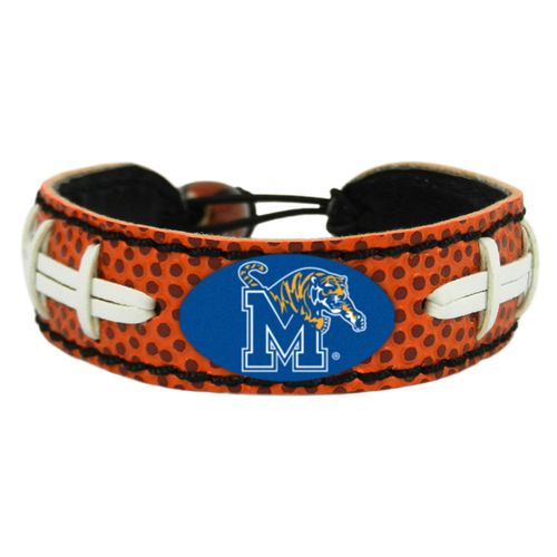 GameWear Adults' University of Memphis Classic Football Bracelet - view number 1