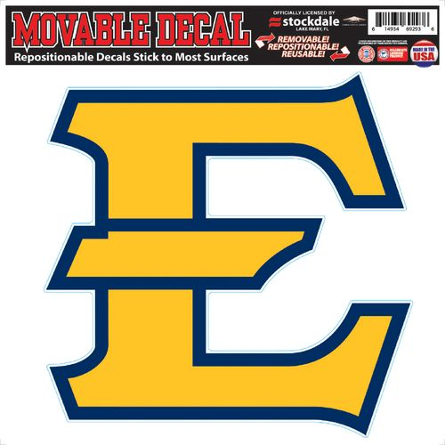 Stockdale East Tennessee State University Movable Decal