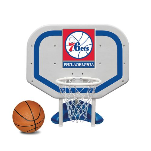 Poolmaster® Philadelphia 76ers Pro Rebounder Style Poolside Basketball Game