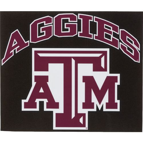 "Stockdale Texas A&M University 8"" x 8"" Vinyl"