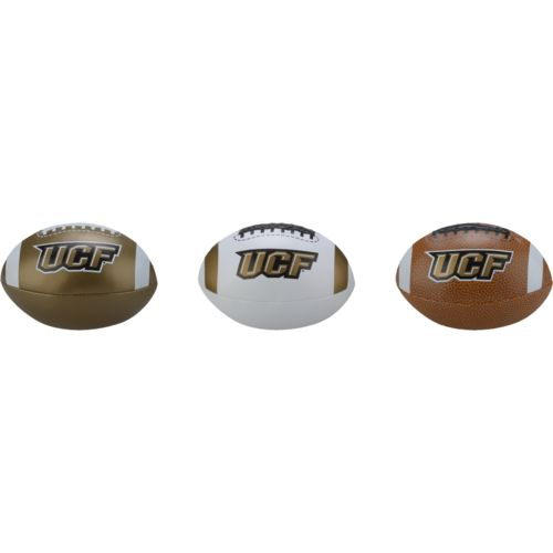 Rawlings® Boys' University of Central Florida 3rd Down Softee 3-Ball Football Set