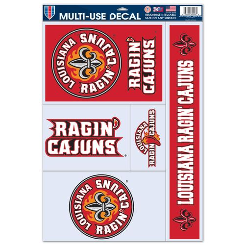 WinCraft University of Louisiana at Lafayette Multiuse Decals