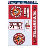 WinCraft University of Louisiana at Lafayette Multiuse Decals 5-Pack