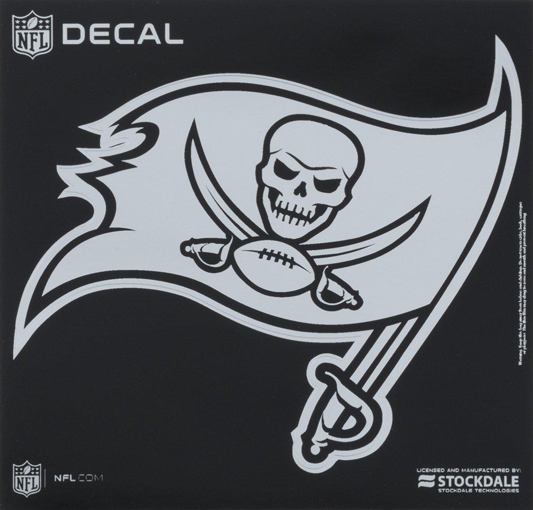 Stockdale Tampa Bay Buccaneers Metallic Decal