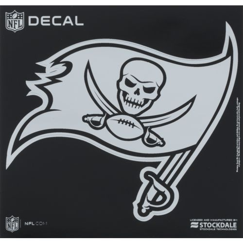 Stockdale Tampa Bay Buccaneers Metallic Decal