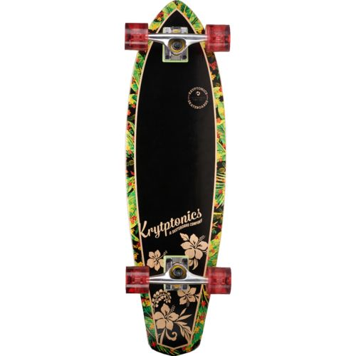 "Kryptonics Mini Swallowtail Cruiser 32"" Longboard"