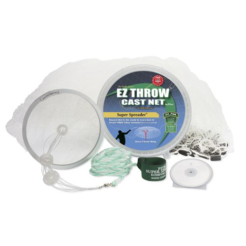 Fitec Super Spreader EZ750 4' EZ Throw Mesh Cast Net