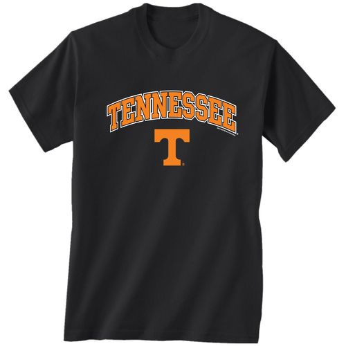 New World Graphics Men's University of Tennessee Arch Mascot T-shirt
