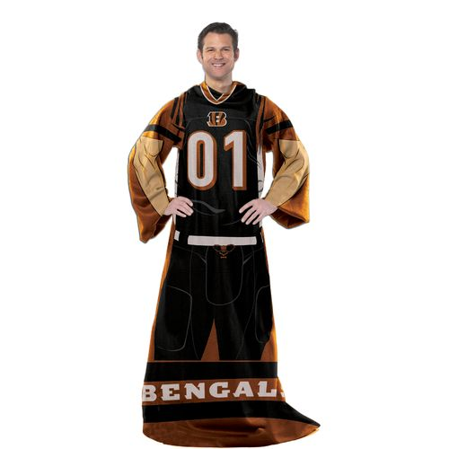 The Northwest Company Cincinnati Bengals Uniform Comfy Throw