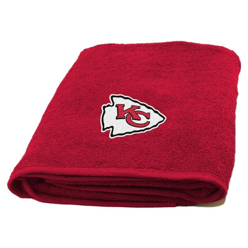 The Northwest Company Kansas City Chiefs Appliqué Bath Towel
