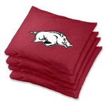 Wild Sports University of Arkansas Regulation Beanbags 4-Pack