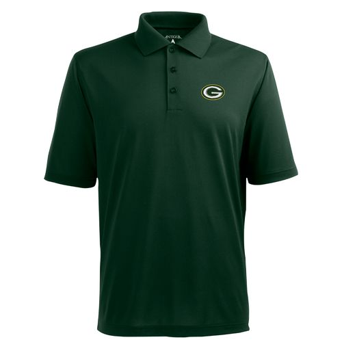 Antigua Men's Green Bay Packers Piqué Xtra-Lite Polo