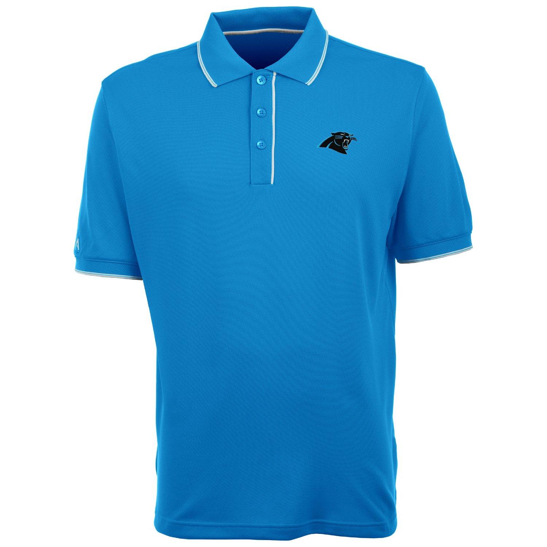 Antigua Men's Carolina Panthers Elite Polo Shirt