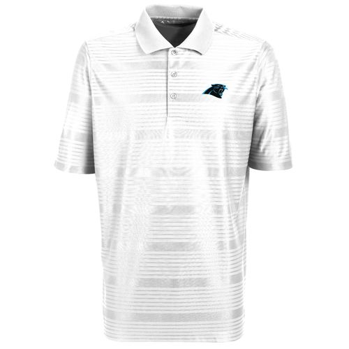 Antigua Men's Carolina Panthers Illusion Polo Shirt - view number 1
