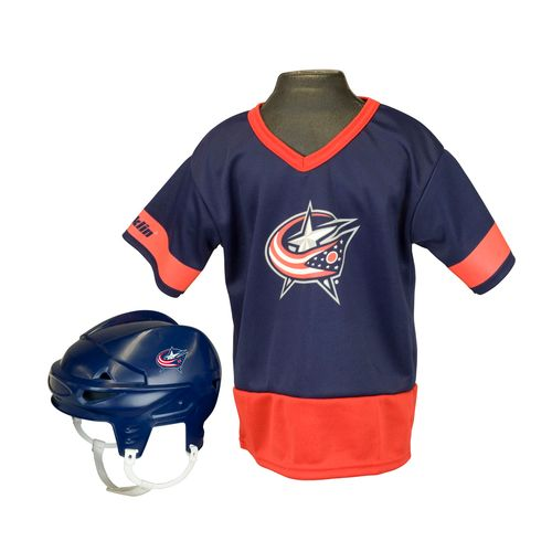 Franklin Kids' Columbus Blue Jackets Uniform Set