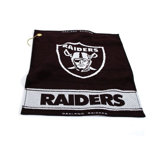 Team Golf Oakland Raiders Woven Towel