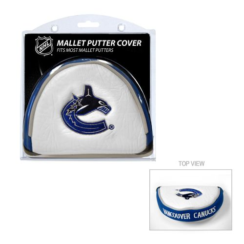 Team Golf Vancouver Canucks Mallet Putter Cover - view number 1