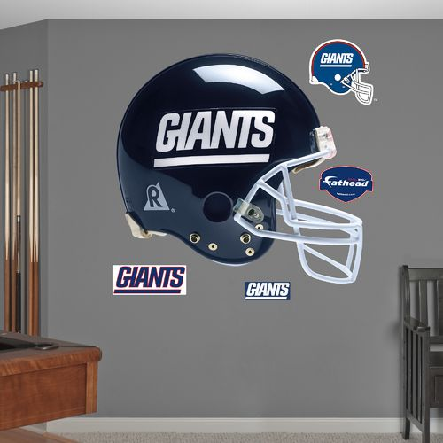 Fathead New York Giants Real Big Throwback Helmet Decal - view number 1