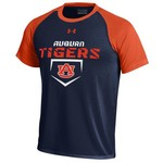 Under Armour® Boys' Auburn University Tech Baseball T-shirt