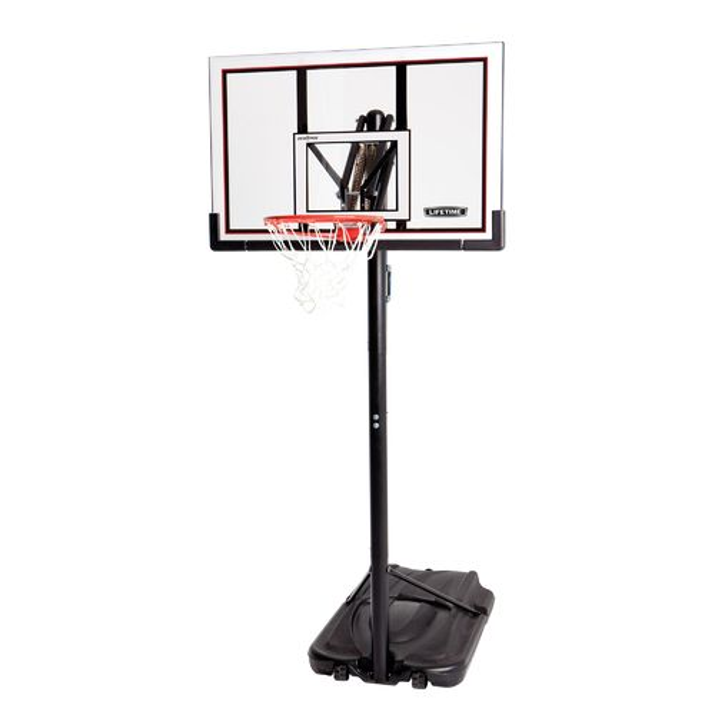 "Lifetime 52"" Makrolon® Polycarbonate Portable Basketball Hoop"