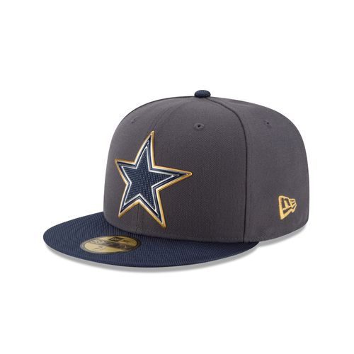 New era men 39 s dallas cowboys gold collection onfield for Dallas cowboys fishing hat
