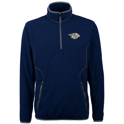 Antigua Men's Nashville Predators Ice 1/4 Zip Pullover