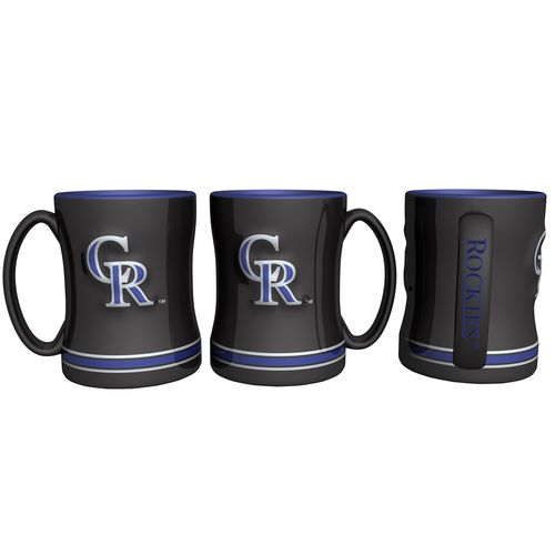 Boelter Brands Colorado Rockies 14 oz. Relief Coffee Mugs 2-Pack