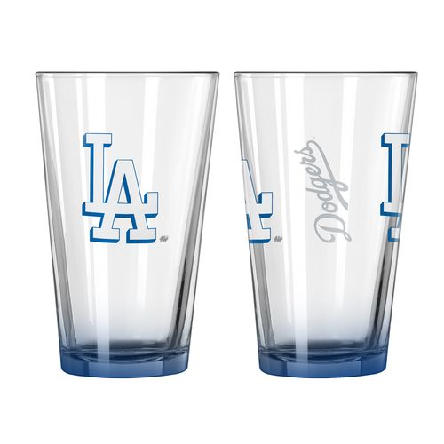 Boelter Brands Los Angeles Dodgers Elite 16 oz. Pint Glasses 2-Pack