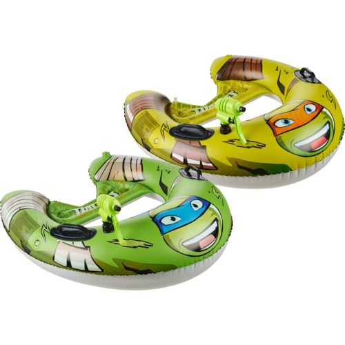 Display product reviews for Nickelodeon Kids' Teenage Mutant Ninja Turtles Blastin' Battle Boats with Squirt Guns 2-Pack