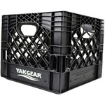 Yak-Gear Kayak Fishing Milk Crate