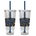 Boelter Brands University of Pittsburgh Bold Neo Sleeve 22 oz. Straw Tumblers 2-Pack - view number 1